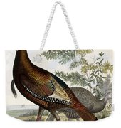 Wild Turkey Weekender Tote Bag by Titian Ramsey Peale