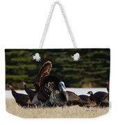Wild Turkeys Weekender Tote Bag