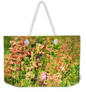 Wild Unfettered Beauty Weekender Tote Bag