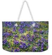 Wild Violets  Weekender Tote Bag