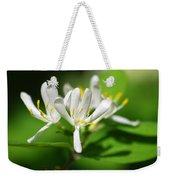 White Honeysuckle Flowers Weekender Tote Bag