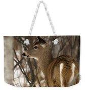 Wild White-tailed Deer Weekender Tote Bag