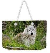 Wild Wolf Weekender Tote Bag