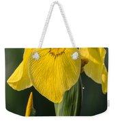 Wild Yellow Iris Weekender Tote Bag