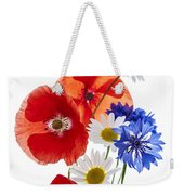 Wildflower Arrangement Weekender Tote Bag