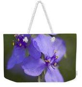 Wildflower Blues Weekender Tote Bag