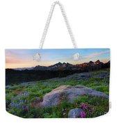 Wildflower Dawning Weekender Tote Bag