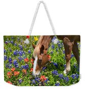 Wildflower Feast Weekender Tote Bag