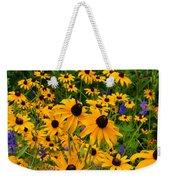 Wildflower Gold Weekender Tote Bag