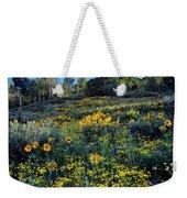 Wildflower Hillside Weekender Tote Bag