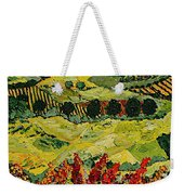 Wildflower Jungle Weekender Tote Bag