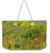Wildflower Patch Weekender Tote Bag