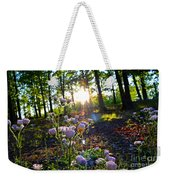 Wildflower Sunset Weekender Tote Bag