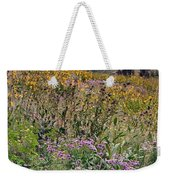 Wildflowers And Mountains  Weekender Tote Bag