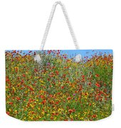 Wildflowers And Sky 2am-110541 Weekender Tote Bag