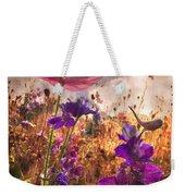 Wildflowers At Dawn Weekender Tote Bag