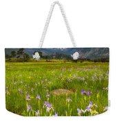 Wildflowers In Rocky Mountain National Park Weekender Tote Bag