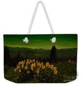 Wildflowers In The Beartooth Mountains Weekender Tote Bag