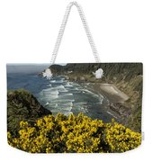 Wildflowers On An Atypical Winter's Day On The Oregon Coast Weekender Tote Bag