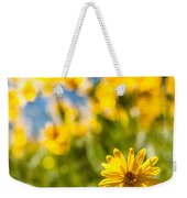 Wildflowers Standing Out Abstract Weekender Tote Bag