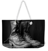 Wildland Fire Boots Still Life Weekender Tote Bag