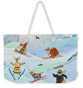 Wildlife Freestyle Weekender Tote Bag