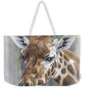Wildlife Giraffe  Weekender Tote Bag