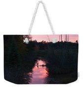 Wildlife Sunset Weekender Tote Bag