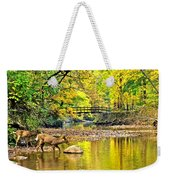 Wildlifes Thirst Weekender Tote Bag