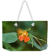 Wildly Orange Weekender Tote Bag