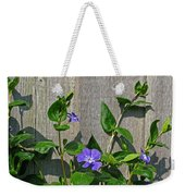 Wildly Purple Weekender Tote Bag