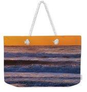 Wildwood Beach Golden Sky Weekender Tote Bag