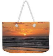 Wildwood Beach Here Comes The Sun Weekender Tote Bag