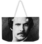 Will Ferrell Anchorman The Legend Of Ron Burgundy Drawing Weekender Tote Bag