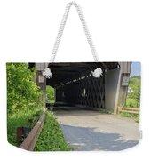 Willard Covered Bridge North Hartland Vermont Weekender Tote Bag