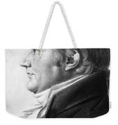 William Augustine Washington IIi Weekender Tote Bag
