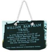 William Bartram Weekender Tote Bag