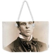 William Butler Yeats (1865-1939) Weekender Tote Bag
