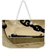 William G Mather In Sepia Weekender Tote Bag