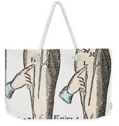 William Harvey: Blood, 1628 Weekender Tote Bag