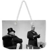 William Mckinley Making His Inaugural Address Weekender Tote Bag by War Is Hell Store