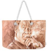 William Shatner As Denny Crane In Boston Legal Weekender Tote Bag