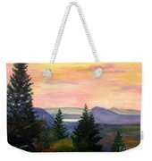 Willoughby Gap From Burke Mountain Weekender Tote Bag