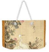 Willow And Herons Weekender Tote Bag