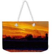 Willow Rd Sunset 2.27.2014 Weekender Tote Bag