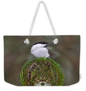 Willow Tits Planet Weekender Tote Bag