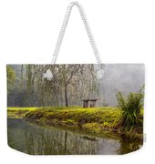 Willow Tree At The Pond Weekender Tote Bag