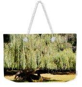 Willow Tree With Job Verse Weekender Tote Bag