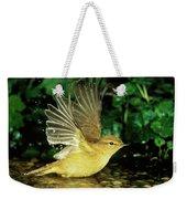 Willow Warbler Phylloscopus Trochilus Weekender Tote Bag