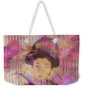 Willow World - Square Version Weekender Tote Bag